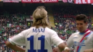 Maxi Lopez porta in vantaggio il Catania a San Siro