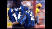 Gran goal di Roberto Baggio contro il Bari: l'Inter vince a San Siro