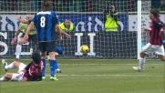Il destro di Stankovic trafigge Abbiati: Inter sul 2-0 nel derby