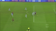 Melchiorri da ottima posizione tira alto: chance sprecata per il Cagliari