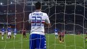 Menez è impeccabile anche su rigore: è il goal del 2-2 tra Sampdoria e Milan