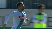 Mertens sblocca il risultato a Cagliari con un goal dal limite