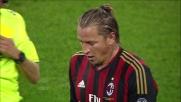 Mexes ferma fallosamente Giovinco e l'arbitro gli mostra il cartellino rosso