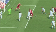 Mexes segna un goal in mischia e riporta la Roma in partita nel derby