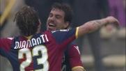 Garics realizza il goal del 3-1 del Bologna contro il Genoa