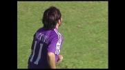 Miccoli, goal da fuori area e Fiorentina avanti contro il Cagliari
