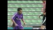 Miccoli non perdona, segna il goal del vantaggio della Fiorentina