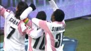 Miccoli porta avanti il Palermo a San Siro contro il Milan