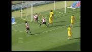 Migliaccio sfrutta al meglio l'uscita errata di Carrizo e realizza il 2-0 sulla Lazio