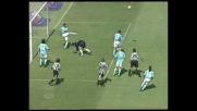 Mihajlovic respinge sulla linea il tiro di Iaquinta
