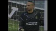 Mihajlovic su punizione colpisce la traversa e mette paura all'Inter