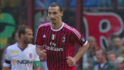 Milan-Bologna: Ibrahimovic segna il goal del definitivo pareggio