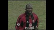 Milan-Vicenza, goal vittoria di Weah