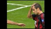 Milan vicino al goal con Gilardino che di testa centra il palo del Siena