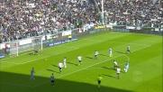 Milinkovic-Savic controlla e cerca il gran tiro contro la Juventus