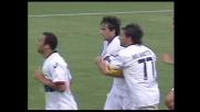 Milito firma il goal della bandiera per il Genoa contro il Palermo