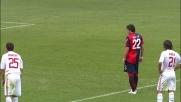 Milito implacabile su rigore. Suo il goal del 2-0 del Genoa contro il Milan