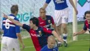 Milito lancia il Genoa nel derby della Lanterna con la Sampdoria