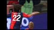 Milito si abbatte sulla Roma con un goal dei suoi: Genoa in estasi