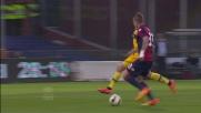 Mirante a mano aperta salva la porta del Parma sul tiro di Kucka