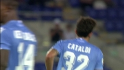 Mirante neutralizza un bel tiro di Cataldi