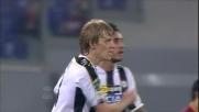 Basta realizza il goal del 3-2 accorciando le distanze dalla Roma ma è troppo tardi