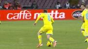Jorginho va via col sombrero ad Essien