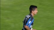 Moralez colpisce il palo direttamente da corner contro l'Hellas
