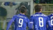 Morata si inventa il goal vittoria a Palermo