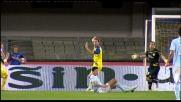 Morero trattiene Cruz per la maglia: rigore per la Lazio al Bentegodi