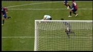 Moretti provvidenziale su Zarate: il Genoa si salva contro la Lazio