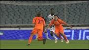 Moro sfiora il goal da cineteca contro l'Udinese