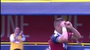 Mounier realizza il goal vittoria in Bologna - Frosinone