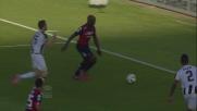 Mpoku ubriaca di finte la difesa dell'Udinese