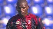 Mudingayi scuote il Bologna con il goal del 2-1 all'Olimpico di Roma