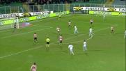Munoz atterra Floccari in area: rigore per la Lazio a Palermo