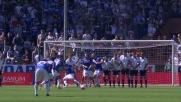 Muriel sfiora il palo da calcio piazzato contro la Lazio