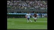 Mutu a un passo dal goal contro il Milan, ma Favalli si intromette e recupera