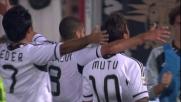 Mutu apre le marcature al Manuzzi contro la Lazio