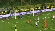Mutu colpisce la traversa dal dischetto in Cesena-Udinese