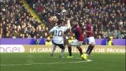 Mutu fa sparire la palla a Miguel Veloso in Cesena-Genoa