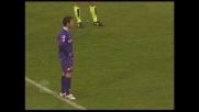 Mutu realizza su rigore il goal del 3-1 in Fiorentina-Cagliari