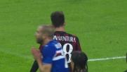 De Silvestri tira per la maglia Bonaventura: calcio di rigore per il Milan