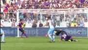 Neto dice di no a Candreva e respinge il tiro in Fiorentina-Lazio