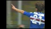 Il goal di Franceschini riporta in vantaggio la Sampdoria a Marassi