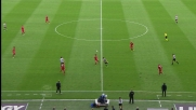 Il tacco di Nico Lopez non va a buon fine in Udinese-Cagliari