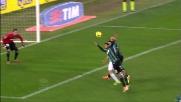Paolo Cannavaro sfiora la palla e causa l'autogoal contro la Lazio