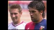 La traversa nega la gioia del goal a Milanetto