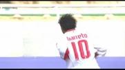 Al San Nicola fa festa il Bari con il goal di Barreto