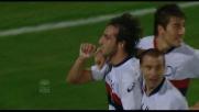 Moretti firma il blitz del Genoa con un goal dal calcio d'angolo